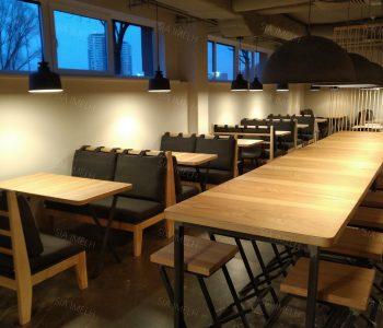 re>start dienas restorāns biroju centrā SkanstesCity
